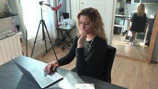 Shanice Tafforeau, chez elle au Mans. (France 3 Pays de la Loire)