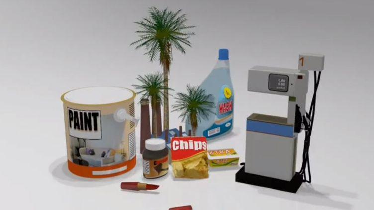 Produits alimentaires et industriels contenant de l'huile de Palme. (AFP)