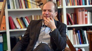 """Patrick Boucheron, universitaire, historien, écrivain, auteur de """"Histoire mondiale de la France"""" (PHILIPPE PAUCHET / MAXPPP)"""