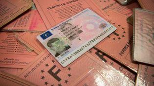 Les nouveaux permis de conduire, une carte plastifiée dotée d'une puce électronique, ont été mis en place en septembre 2013. (SERGE POUZET / SIPA)