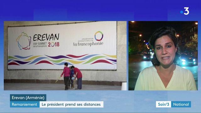 L'Arménie et la francophonie avant le remaniement pour Emmanuel Macron