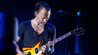 Thom Yorke du groupe Radiohead à Berlin en 2016  (Sophia Kembowski / dpa / AFP)