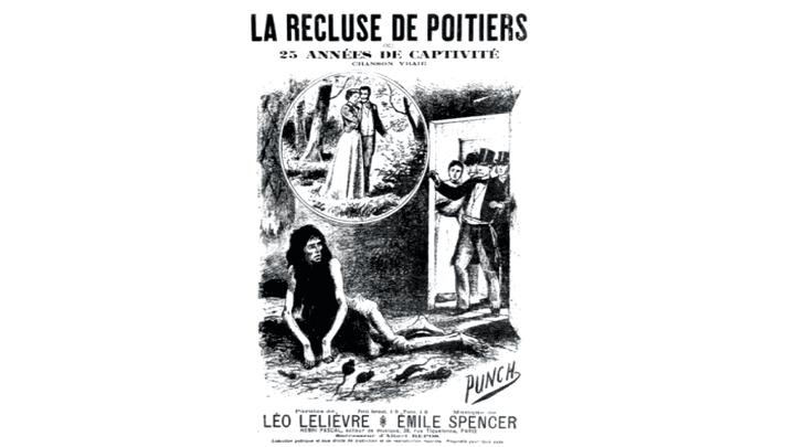"""L'affaire de """"La séquestrée de Poitiers"""" fit l'objet de nombreuses publications  (France3/culturebox)"""