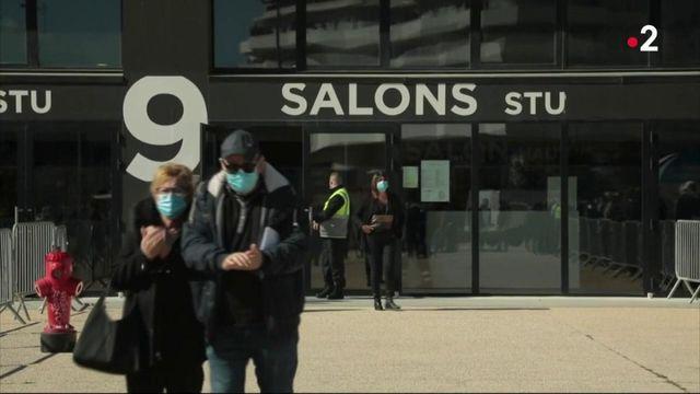 Marseille : premières vaccinations contre le Covid-19 au stade Vélodrome