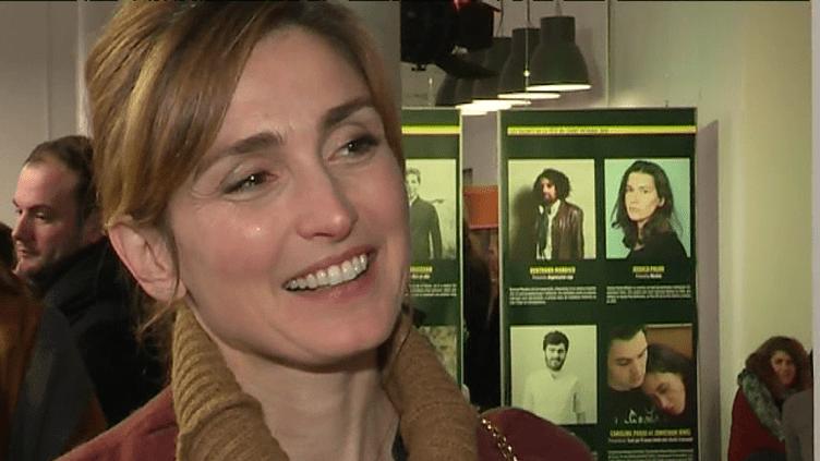 """Julie Gayet, présdidente de l'association """"Faites des Courts, Fête des films"""" au Festival du court métrage de Clermont-Ferrand.  (France 3 / Culturebox)"""