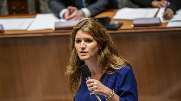 Marlène Schiappa, le 5 mars 2019, à l'Assemblée nationale. (AURELIEN MORISSARD / MAXPPP)