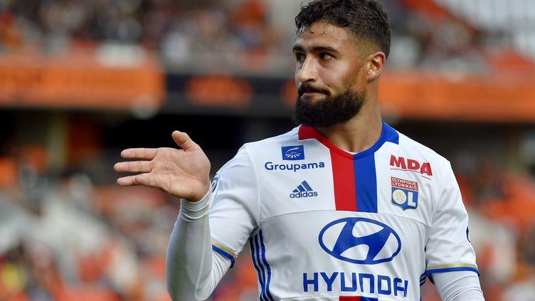 L'attaquant de Lyon Nabil Fékir. (LOIC VENANCE / AFP)