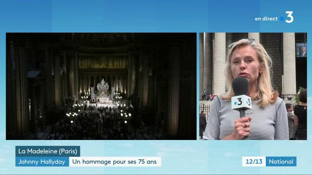 Johnny Hallyday : hommage plein d'émotion à Paris pour les 75 ans du chanteurs