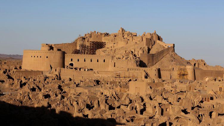 Citadelle de Bam, dans la province du Kerman en Iran, siteinscritau patrimoine mondial de l'UNESCO, 23 décembre 2013 (ATTA KENARE / AFP)