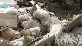 La mort du maire de Signes (Var), durant l'été 2019, avait fait prendre conscience de l'ampleur des décharges sauvages dans le bâtiment. Un an plus tard, certaines pratiques perdurent cependant. (FRANCE 2)