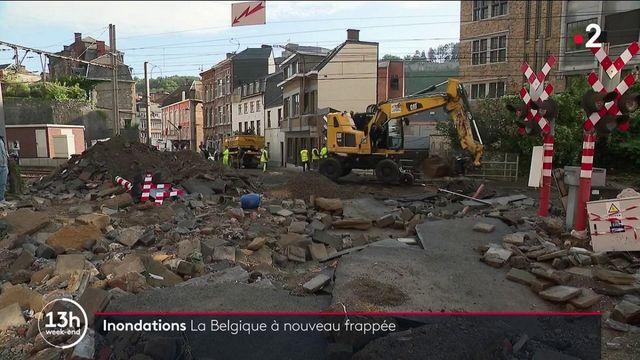 Belgique : le pays a nouveau frappé par des inondations