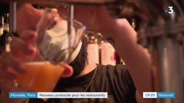 Mesures sanitaires : réouverture des restaurants à Aix-Marseille