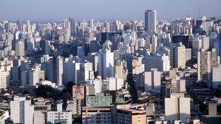 La ville de Sao Paulo au Brésil. (MAXPPP)