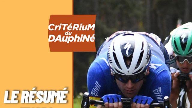 Critérium du Dauphiné 2021 : le résumé de la deuxième étape
