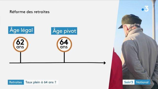 Retraite : vers un taux plein à 64 ans ?