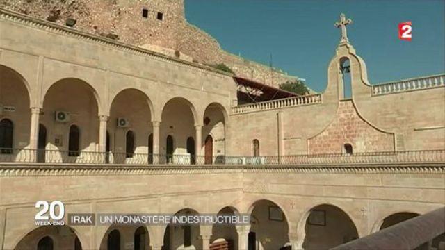 Irak : Un monastère chrétien face à Mossoul