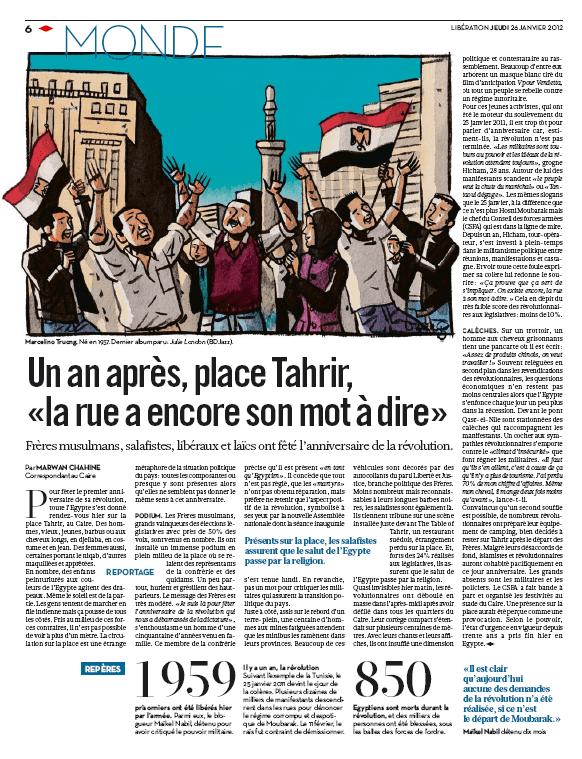 Libération p 6  (France3/culturebox)