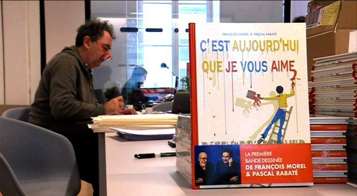 François Morel et son album  (France 3 Culturebox Capture d'écran)