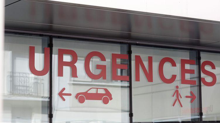 27 Mars 2015 - Image d'illustration du service des urgences de l'hôpital Tenon à Paris (  MAXPPP)