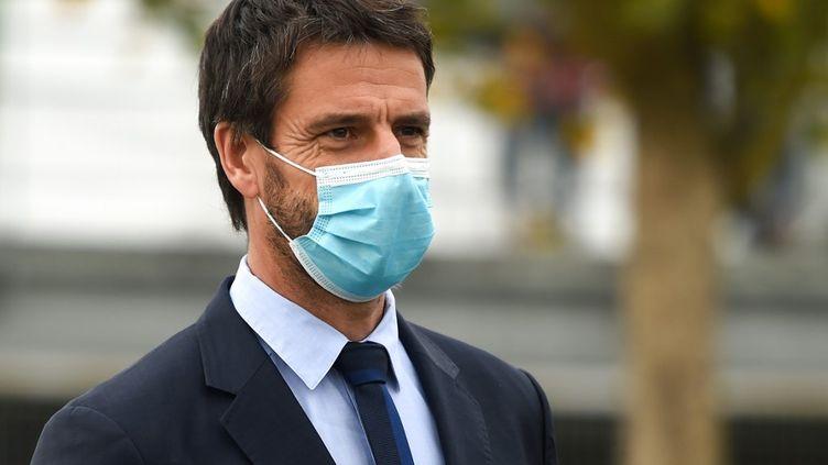 Tony Estanguet, président du comité d'organisation des JO-2024 de Paris (GAIZKA IROZ / AFP)