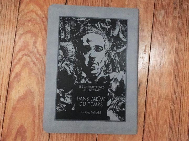 """""""Dans l'abîme du temps"""", de Gou Tanabe, d'après Lovecraft (Ki-oon)"""