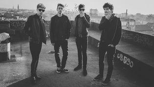 Last Train, le groupe rock de Mulhouse à l'énergie ravageuse, promet de mettre le feu à Rock en Seine 2015.  (Bartosch Salmanski)