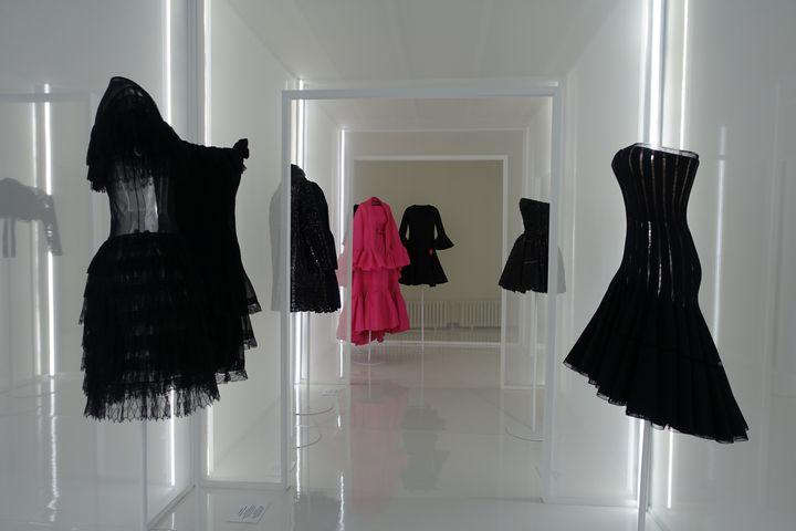Deuxièmevolet de l'expositionAlaïa et Balenciaga. Sculpteurs de la formeà Paris, en septembre 2020 (CORINNE JEAMMET)