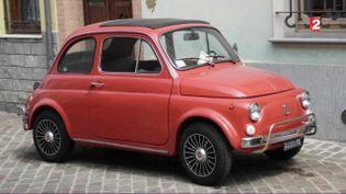 Fiat 500 :la voiture fête ses 60 ans (CAPTURE ECRAN FRANCE 2)