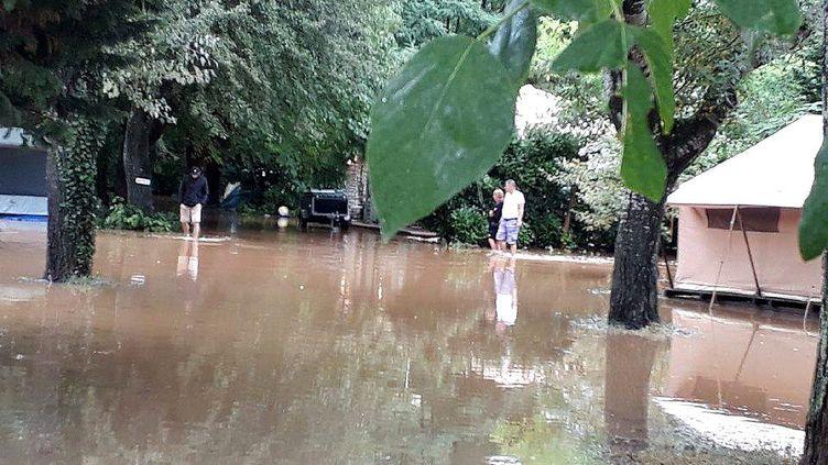 Le camping était établi sur un terrain inondable et n'avait pas reçu l'homologation de la préfecture. (MAXPPP)