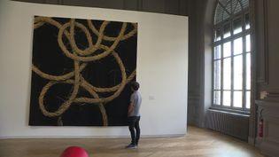Quand Aubusson rencontre l'art contemporain. (CAPTURE D'ÉCRAN FRANCE 3)