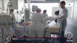 Dans un hôpital, à Lyon. (France 2)