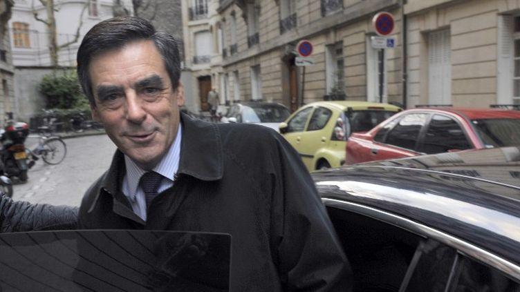 François Fillon, le 27 novembre 2012 à Paris. (MEHDI FEDOUACH / AFP)
