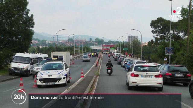 Déconfinement : la frontière avec l'Espagne toujours fermée à Hendaye