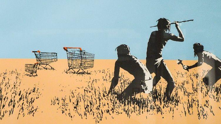 """Trolley Hunters"", détail, 2007  (ISA HARSIN/SIPA)"