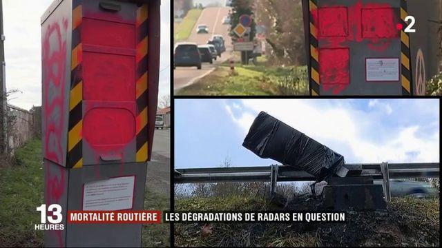 Mortalité : les dégradations de radars en question