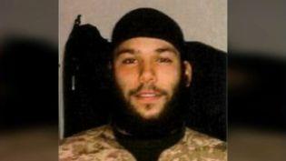 Le terrorisme suède présumé Osama Krayem. (FRANCE 3)