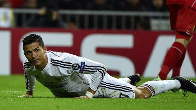 Cristiano Ronaldo a marqué mais cela n'a pas suffi (PIERRE-PHILIPPE MARCOU / AFP)