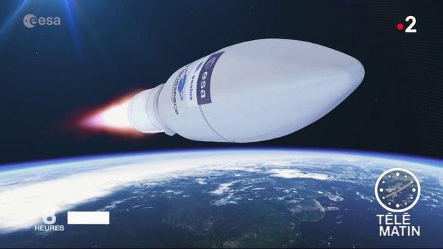 Météo : le satellite Aeolus lancé avec succès