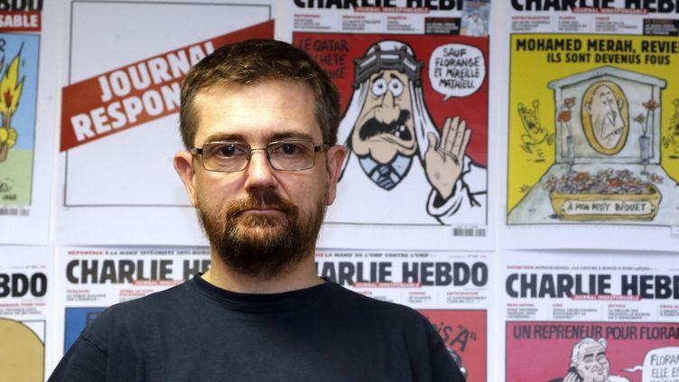 Le dessinateurCharb en 2012.  (FRANCOIS GUILLOT / AFP)