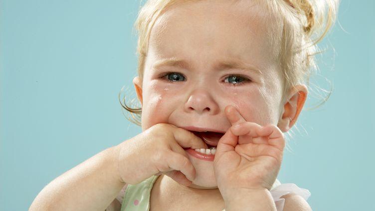 illustration d'une bébé qui pleure (GETTY IMAGES)