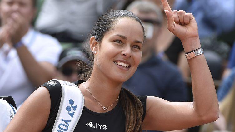 Ana Ivanovic prend sa retraite, à seulement 29 ans. (DOMINIQUE FAGET / AFP)