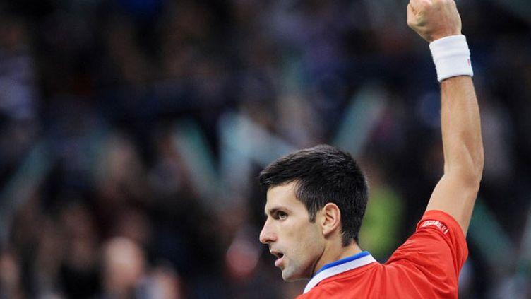 Le tennisman serbe Novak Djokovic