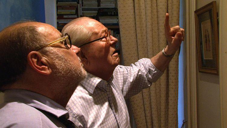"""(Capture d'écran du documentaire """"Adieu Le Pen"""" © Image et compagnie / France 2)"""