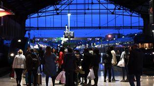 A la gare Saint-Charles de Marseille, le 7 avril 2018. (ANNE-CHRISTINE POUJOULAT / AFP)