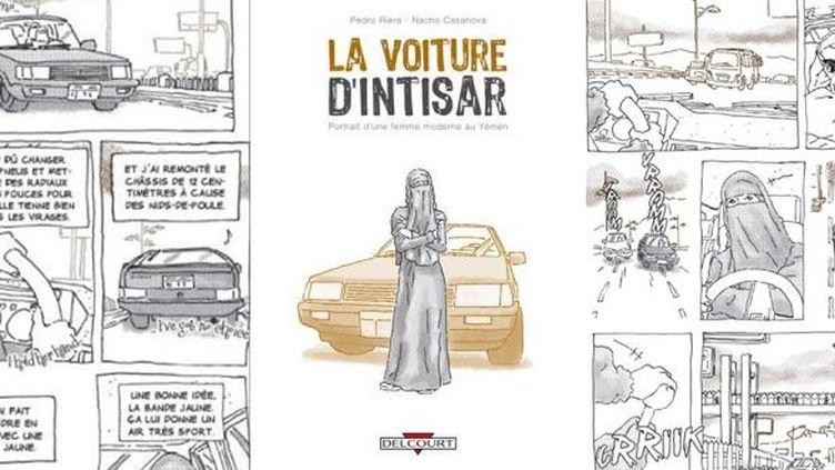 La Voiture d'Intisar - Par Pedro Riera et Nacho Casanova  (Pedro Riera et Nacho Casanova / Delcourt)
