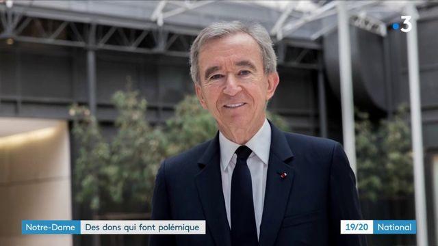 Notre-Dame de Paris : les dons des plus riches font grincer des dents