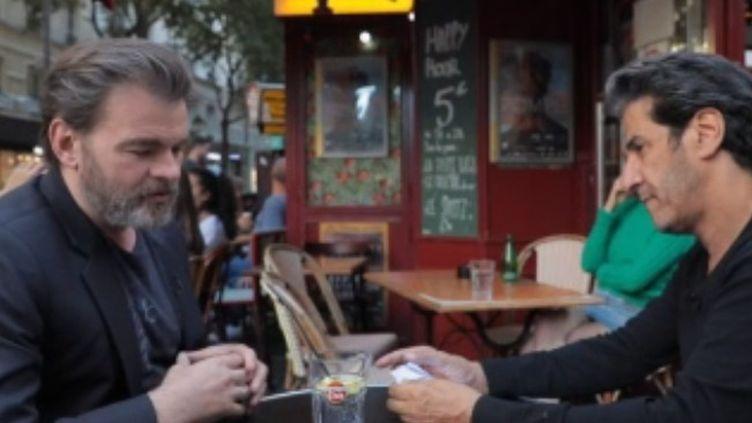 Capture écran interview de Clovis Cornillac pour Culture week-end (FRANCE 2)