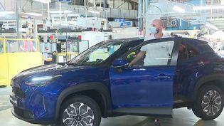 Automobile : la nouvelle Toyota Yaris Cross sera produite dans le nord de la France (France 3)