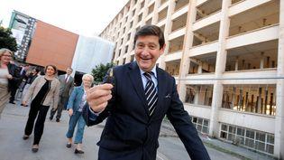 Le président du conseil général du Nord, Patrick Kanner, le 23 septembre 2013, à Lille (Nord). (  MAXPPP)