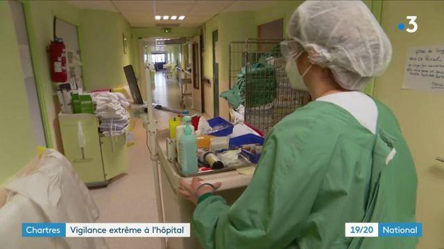 Eure-et-Loir : face à la propagation des variants, l'hôpital de Chartres s'organise